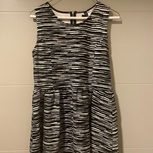 Black and white Dress from H&M size L